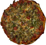 Fricanos EBA Pizza Pie